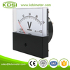 High quality professional BP-80 DC48V black cover panel dc analog battery voltage meter