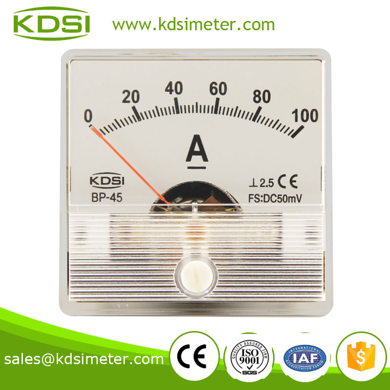 High quality professional BP-45 DC50mV 100A electric current meter
