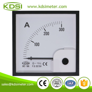 Easy operation BE-96 DC10V 300A dc analog panel amp current meter