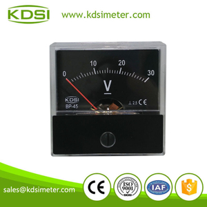 20 Year Top Manufacturer of CE,ISO passed BP-45 DC30V dc voltmeter display
