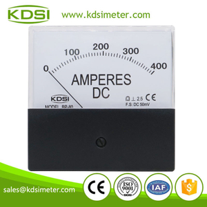 China Supplier BP-80 DC50mV 400A analog dc generator control panel amp meter