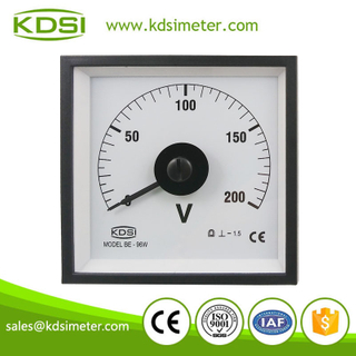 20 Years Manufacturing Experience BE-96W DC200V analog dc voltmeter