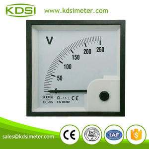 Safe to operate BE-96 96 * 96 DC10V 250V dc quality voltmeter