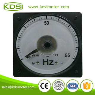 Wide angle LS-110 220V 45-55HZ electrical frequency meter for marine meter
