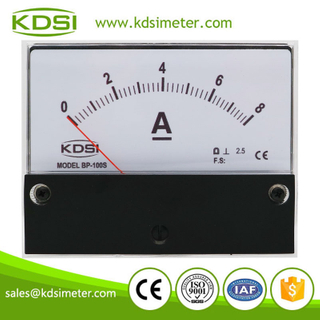 KDSI electronic apparatus BP-100S DC8A analog dc panel mount price of ammeters