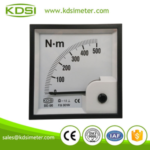 KDSI electronic apparatus BE-96 DC10V 500N.m torque voltage meter