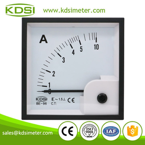 KDSI electronic apparatus BE-96 AC5A ac analog panel ampere indicator