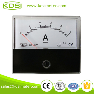 CE certificate BP-670 DC5A analog current meter