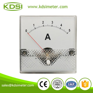 Hot Selling Good Quality BP-80 80*80 DC1mA 5A panel ammeter and voltmeter