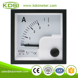 Hot sales BE-48 AC3A ac analog panel small ammeter