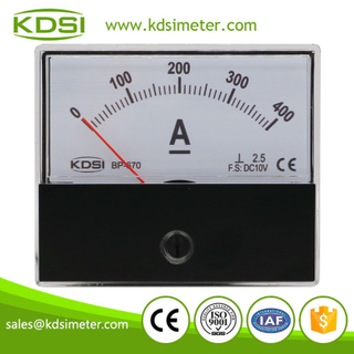 CE certificate BP-670 DC10V 400A panel analog dc high precision ammeter