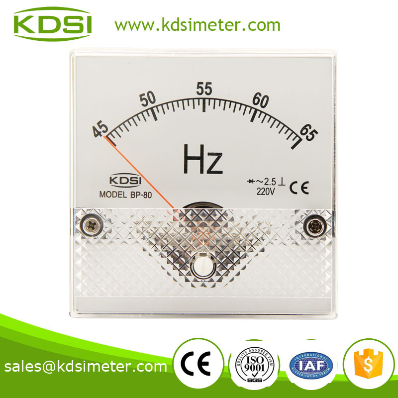 BP-80 Frequency meter 220V 45-65HZ