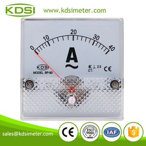KDSI electronic apparatus BP-80 AC40A direct ac analog panel ampere controller