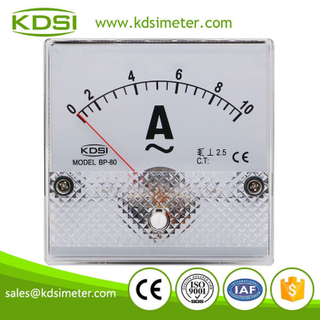 High quality BP-80 AC10A ac analog panel mount ammeter