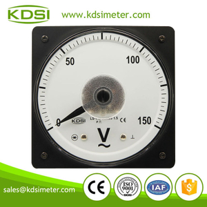 CE Approved LS-110 AC150V wide angle panel analog voltmeter