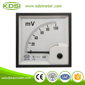 Industrial universal BE-96 96 * 96 DC100mV panel analog millivoltmeter