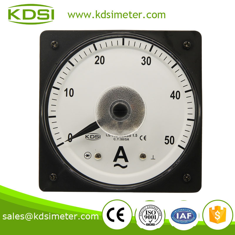 LS-110 AC Ammeter 50/5A wide angle ac ampere meter