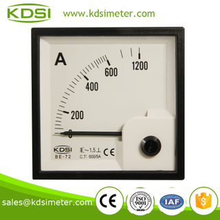 Easy installation BE-72 AC600 / 5A analog current meter