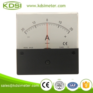 Industrial universal BP-80 80*80 DC+-20A super-mini ammeter