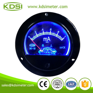 CE certificate BO-52 DC1mA with DC12V Blue backlighting meter