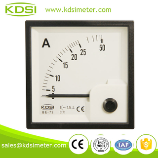 Small & high sensitivity BE-72 AC25A ac ammeter