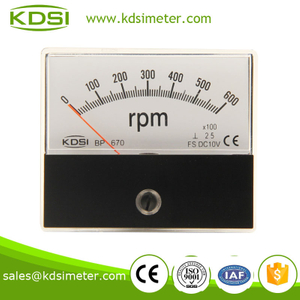 Taiwan technology BP-670 DC10V 600 * 100rpm electric motor rpm meter