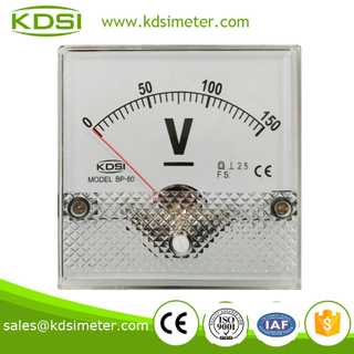 High quality professional BP-80 DC150V panel analog dc voltmeter