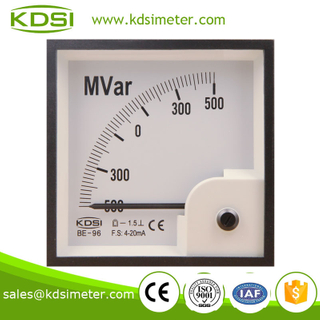 Classical BE-96 DC4-20mA +-500MVar Reactive power meter
