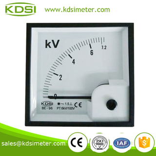 KDSI new model BE-96 96 * 96 AC7.2KV 6KV/100V with rectifier panel meter