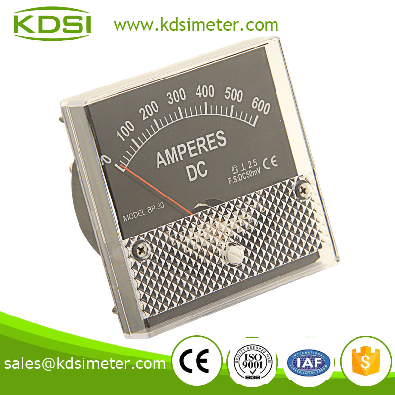 Small & high sensitivity BP-80 80*80 DC600A ammeter with output