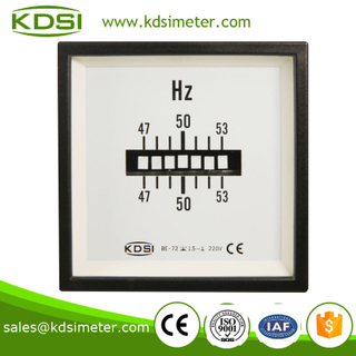 BE-72 Vibrating Reed Frequency Meter 220V 47-53HZ