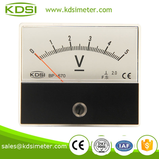 BP-670 DC Voltmeter DC5V taiwan technology panel meter