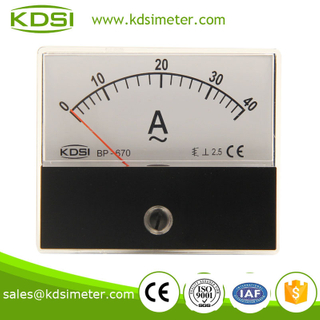 Taiwan technology BP-670 60*70 AC40A AC Ammeter