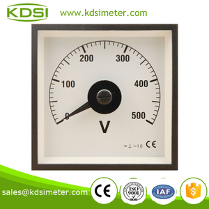 Factory direct sales BE-96W AC 500V with rectifier analog voltmeter